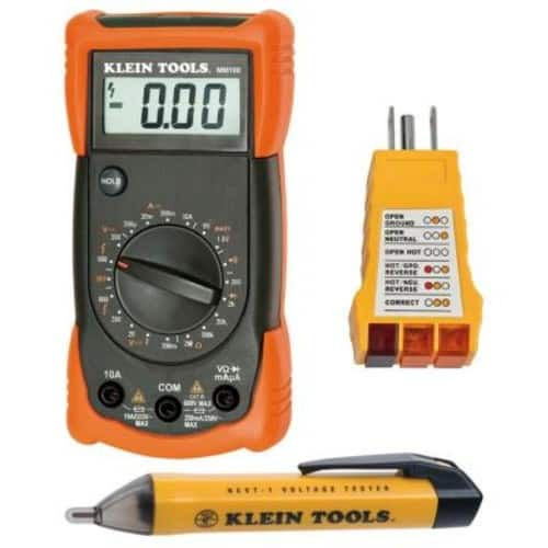 Klein Tools Electrical Test Kit $39.95