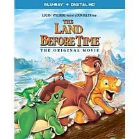 Amazon Deal: The Land Before Time (Original 1988) (Blu-ray + DIGITAL HD) released TODAY - $15 or $17 Best Buy or Amazon