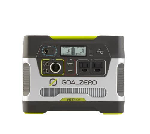 Goal Zero Yeti 400 Portable Power Station $299.99 - Lowest price to date