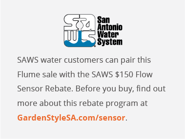 SAWS (and California) customers - Free Flume Water sensor AR (pay tax+shipping) Works with Alexa