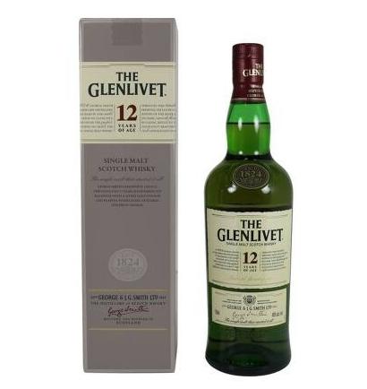Glenlivet 12-Years Old Single Malt Scotch for 4.99$ $4.99