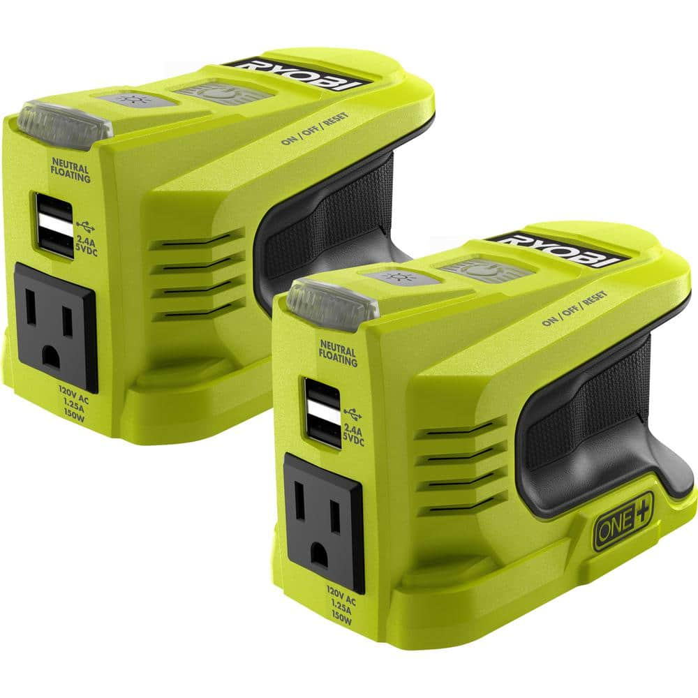 Ryobi Two 150-Watt Powered Inverter $99