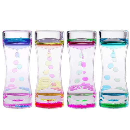 4 Pack Liquid Motion Timer Bubbler for Sensory Play - $12.99 @ Amazon
