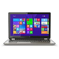 """Best Buy Deal: Toshiba 2-in-1 15.6"""" Touch-Screen Laptop - Intel Core i7 - 12GB Memory - 256GB SSD in Satin Gold on Sale: $799.99 from Bestbuy"""