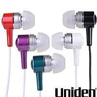 iTechDeals Deal: Uniden Noise Reducing Stereo Earbuds w/ Bonus Ear Tips for $3 Shipped