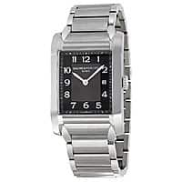 JomaShop Deal: Baume & Mercier 10021 Black Dial Stainless Steel Unisex Watch $559 (81% off) + Free Shipping