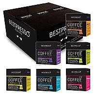 120-Count Bestpresso Nespresso Pods Alternative Gourmet Coffee Capsules (Variety Pack) - $  39.99 Shipped Prime