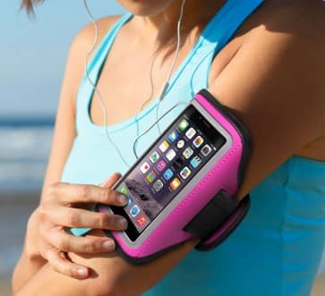 Aduro U-Band Sport Armband for iPhone or Samsung Galaxy $3 + Free Shipping