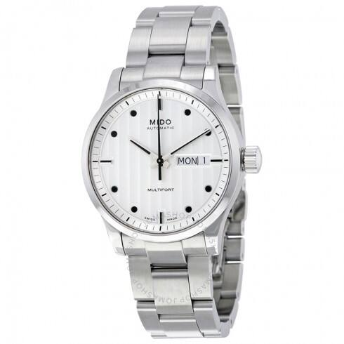 MIDO Multifort Automatic Silver Dial Men's Watch - $399