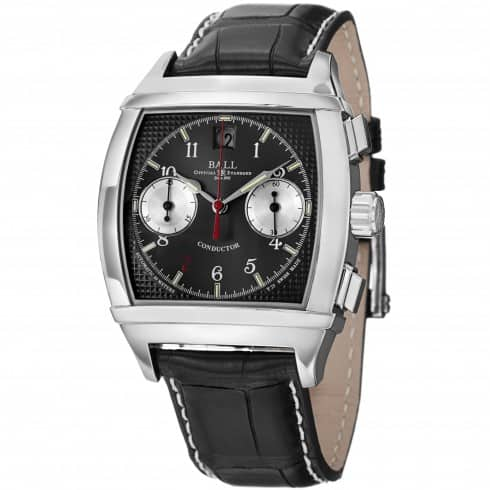 BALL Conductor Chronograph II Automatic Black Dial Men's Watch - $1295 (66% off)