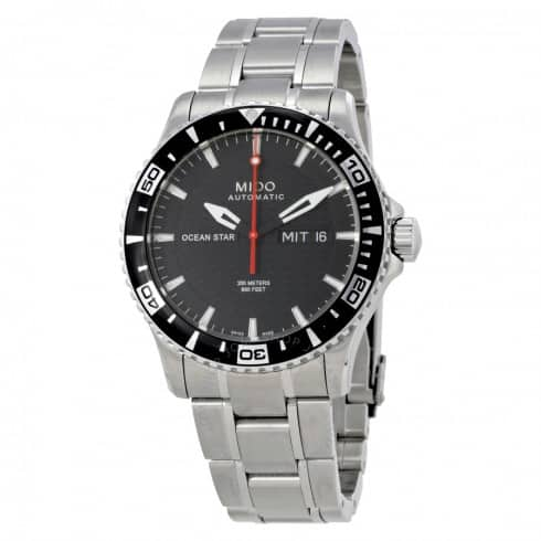 MIDO OS Captain IV Automatic Black Dial Men's Watch - $425 (after $75 off) w/ Amazon Pay