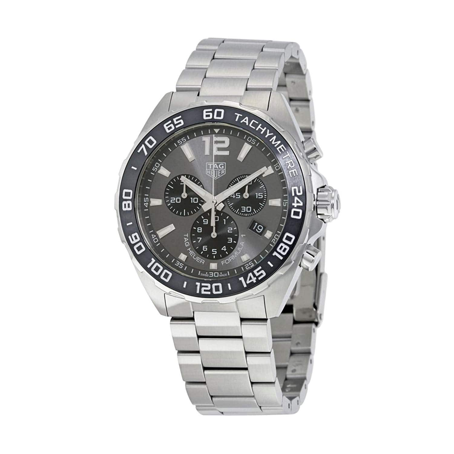 TAG HEUER Formula 1 Chronograph Anthracite Dial Men's Watch - $1049 shipped