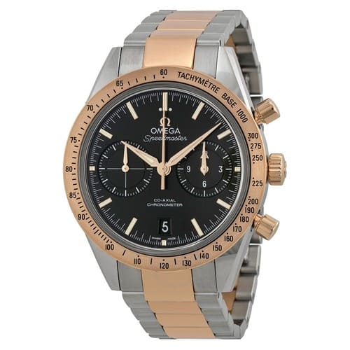 OMEGA Speedmaster Chronograph Automatic Chronometer Black Dial Men's 18k Gold Watch - $6495 (57% off)