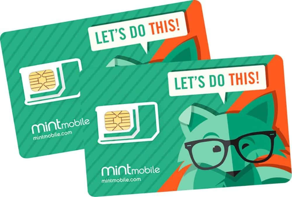 Mint Mobile $5 Prepaid SIM Card Kit for $2 at Bestbuy