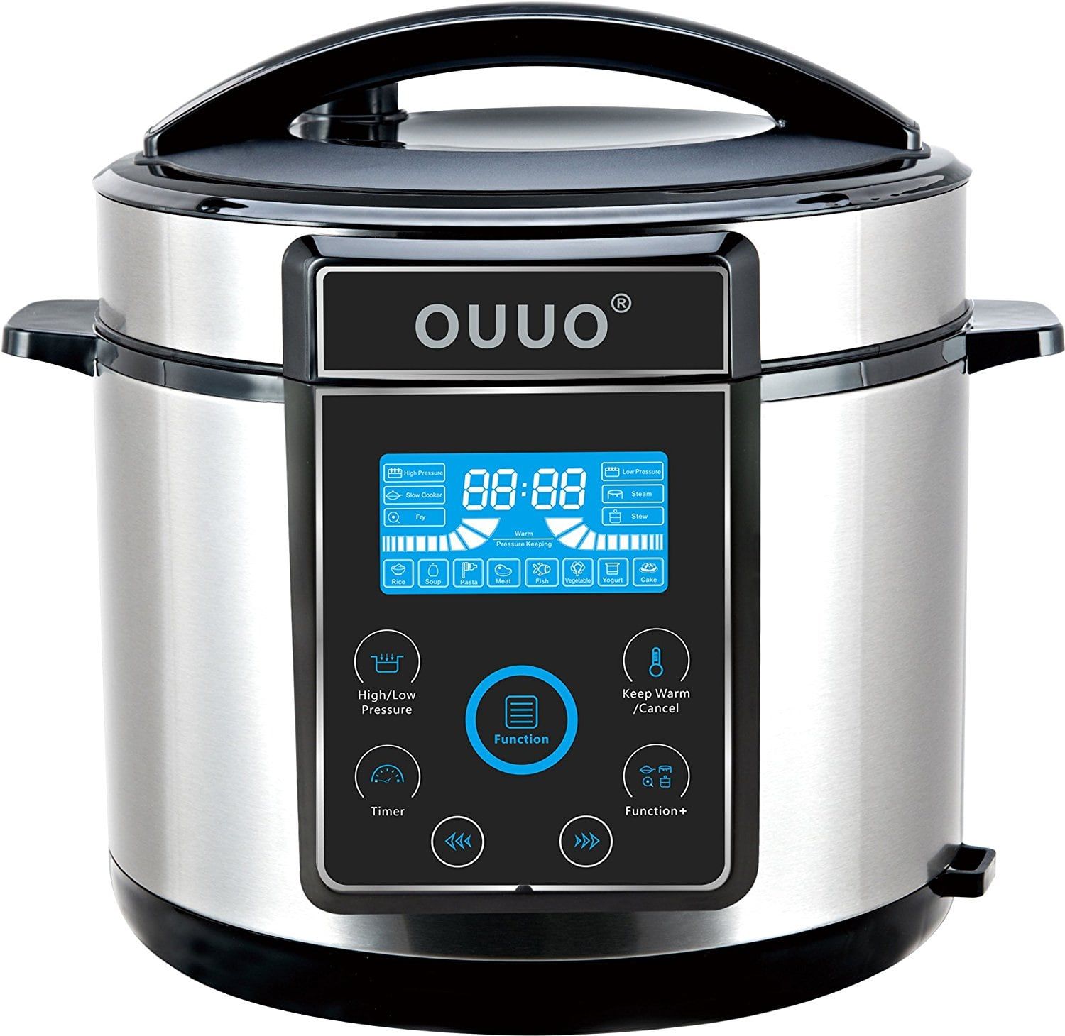 On Sale Electric Pressure Cooker ~ Ouuo programmable smart electric pressure cooker qt for