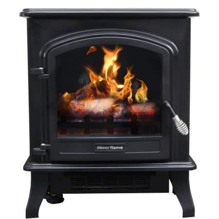 Decor Flame Infrared Stove Heater (QCIH413-GBKP) for $39.88 @ Walmart