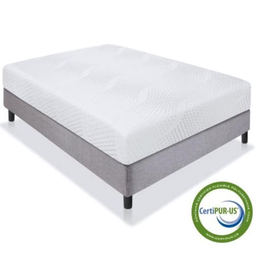 "Best Choice Products 10"" Dual Layered Memory Foam Mattress Queen- CertiPUR-US Certified Foam on clearance for $209.94 @ Walmart"