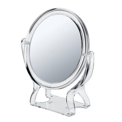 Conair 2 Sided 3x Round Stand Mirror for $2.90 on clearance @ Target