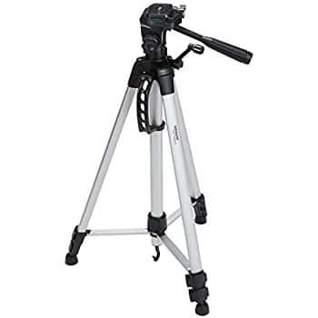 AmazonBasics 60-Inch Lightweight Tripod with Bag, 2-Pack + Tax FS with Prime $25.98