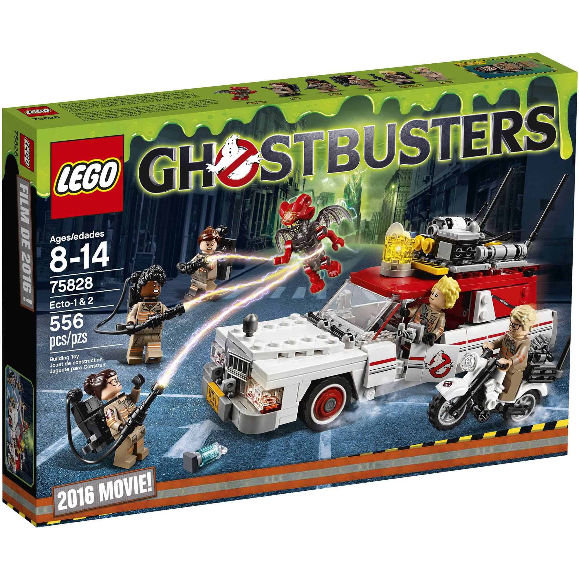 Lego Ghostbusters Ecto 1 and Ecto 2 2016 75828 YMMV Walmart $15 or $35