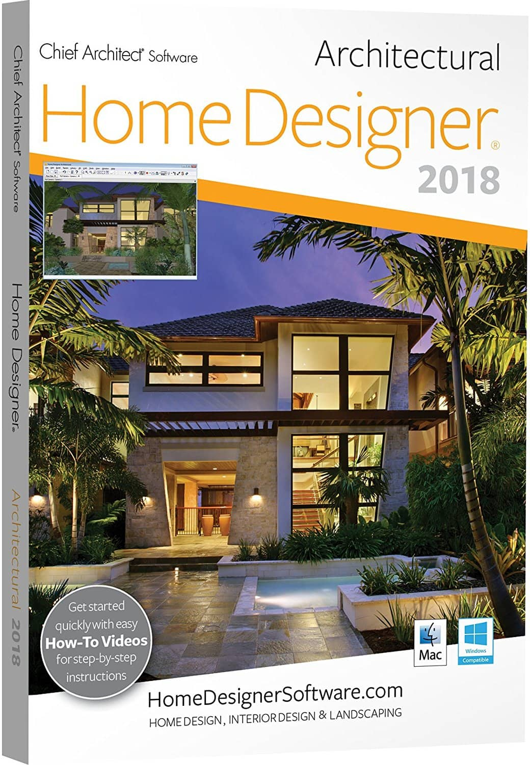 20% off Chief Architect Home Designer 2018 software products ...
