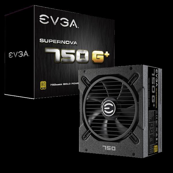 EVGA SuperNOVA 750 G1+, 80 Plus Gold 750W, Fully Modular Power Supply, FDB Fan, 10 Year Warranty $69.99 Free Ship