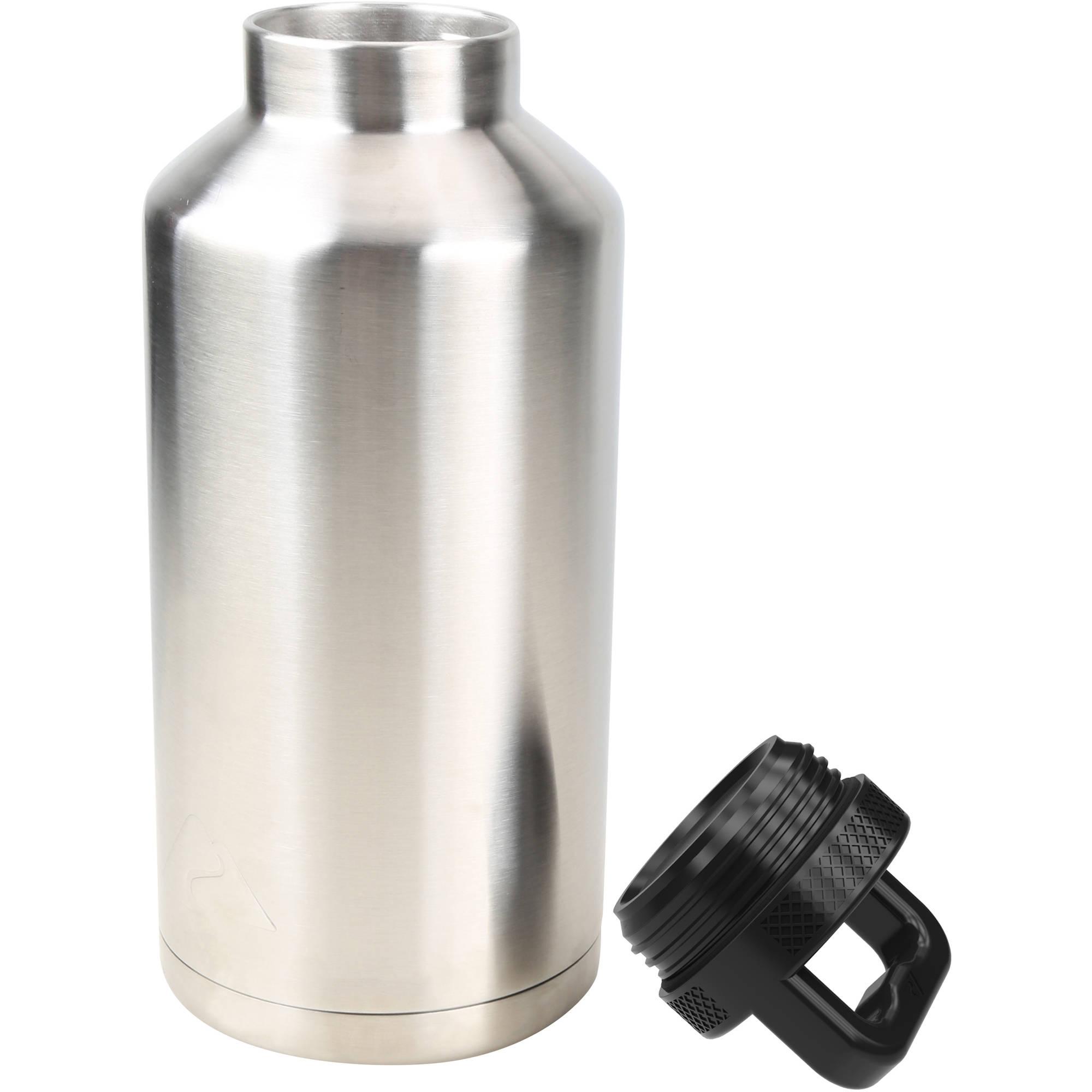 Walmart 64oz Ozark-Trail-Double-Wall-Stainless-Steel-Water-Bottle $11.86