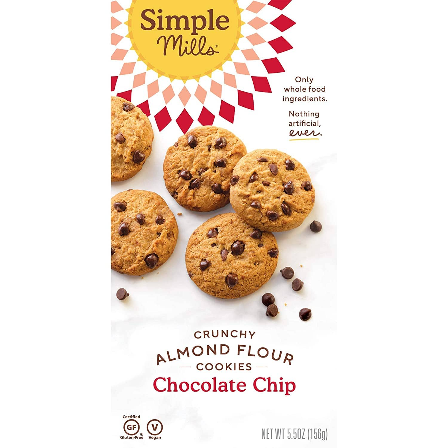 Simple Mills Gluten Free: 6-Ct Almond Flour Chocolate Chip Cookies $14.05, Almond Flour Cookie Dough Baking Mix $4, More + Free Shipping w/ Prime