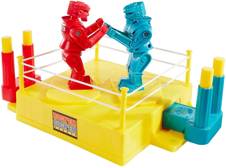 Mattel Rock 'Em Sock 'Em Robots Game $12.49 + Free Shipping w/ Prime or on $25+
