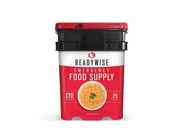 170 Serving ReadyWise Food Preparedness Kit $90 + 2.5% SD Cashback + Free Shipping w/ Prime