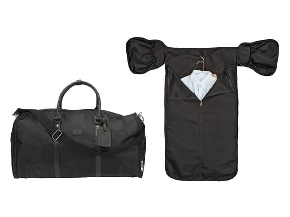 1 Voice The Weekender Garment Bag  w/ Built-in Battery (Black or Grey) $28 +2.5% SD Cashback + Free Shipping w/ Prime