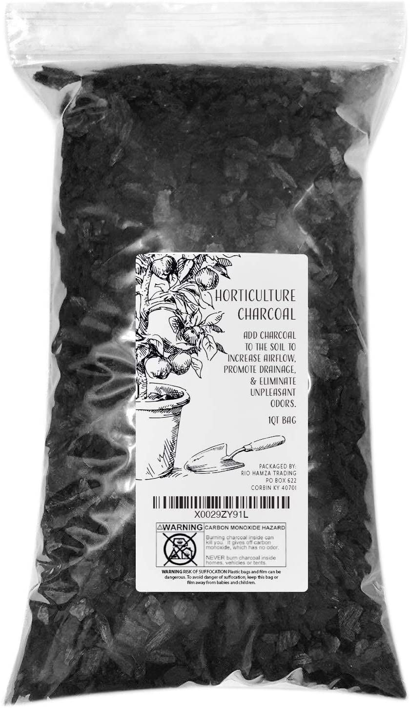 1-Qt Horticultural Charcoal, 100% Natural Hardwood Charcoal $7 + 2.5% SD Cashback + Free Shipping w/ Prime