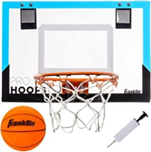 Franklin Sports Over The Door Basketball Hoop (Blue) $13.65 + on $35+
