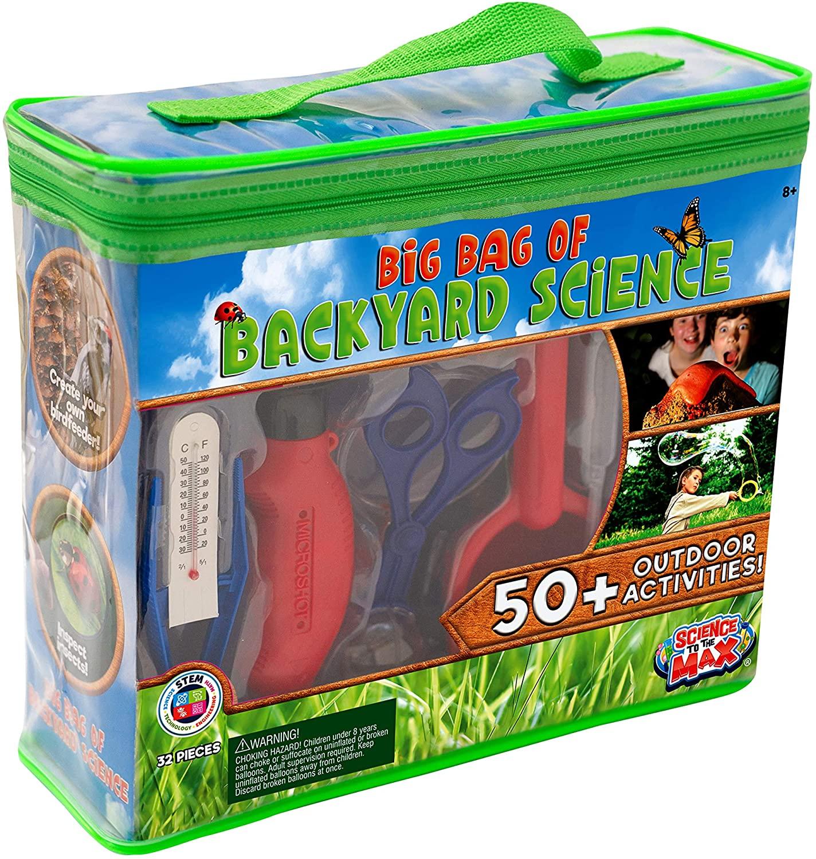 32-Piece Be Amazing! Toys Kid's Big Bag of Backyard STEM Science Kit $18 + Free Shipping w/ Prime