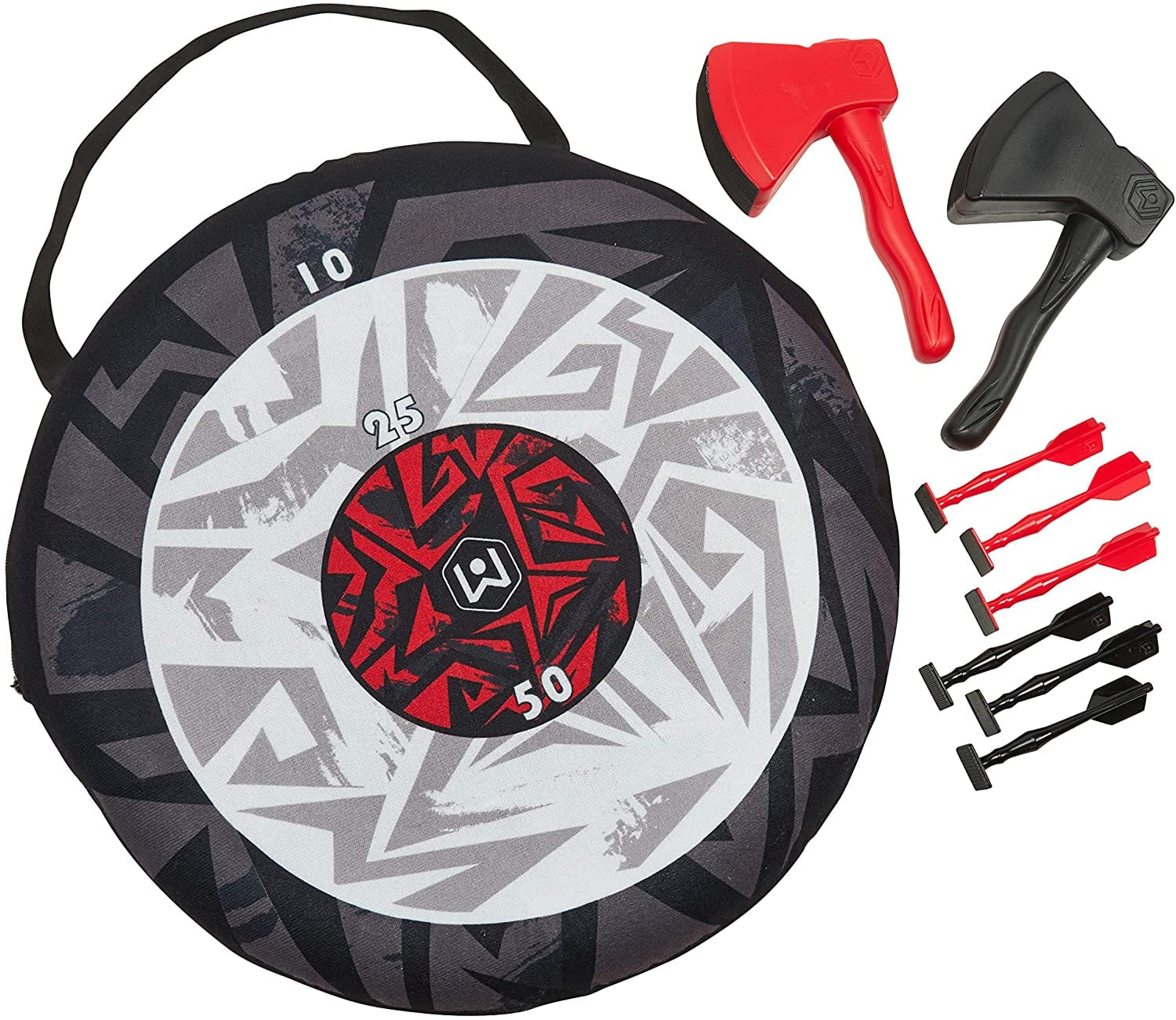 9-Piece Wicked Big Sports Portable Axe Toss and Darts 2-in-1 Game Set $18.63 + Free Shipping w/ Prime or on $25+