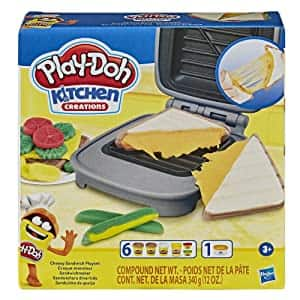 Play-Doh Kitchen Creations Cheesy Sandwich Play Food Set $6 + Free Shipping w/ Prime or on $25+