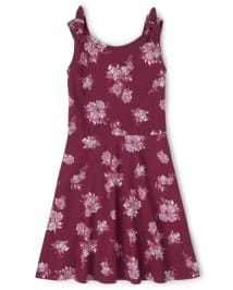 Childrens Place Big Girls' Floral Tie Shoulder Dress $6.78, More + Free Shipping
