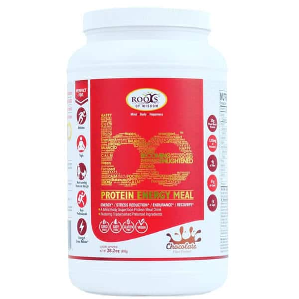 1.76-Lb Roots of Wisdom BE Protein Energy Meal (Chocolate) $8 + $6 Shipping