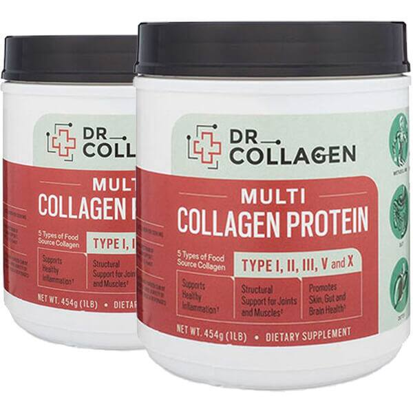 1-Lb Dr Collagen Multi Collagen Protein 2 for $30 ($15 each) + $6 Shipping