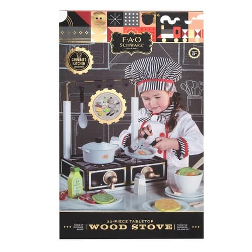 FAO Schwarz Tabletop Wood Stove $16 + Free Store Pickup at Kohls