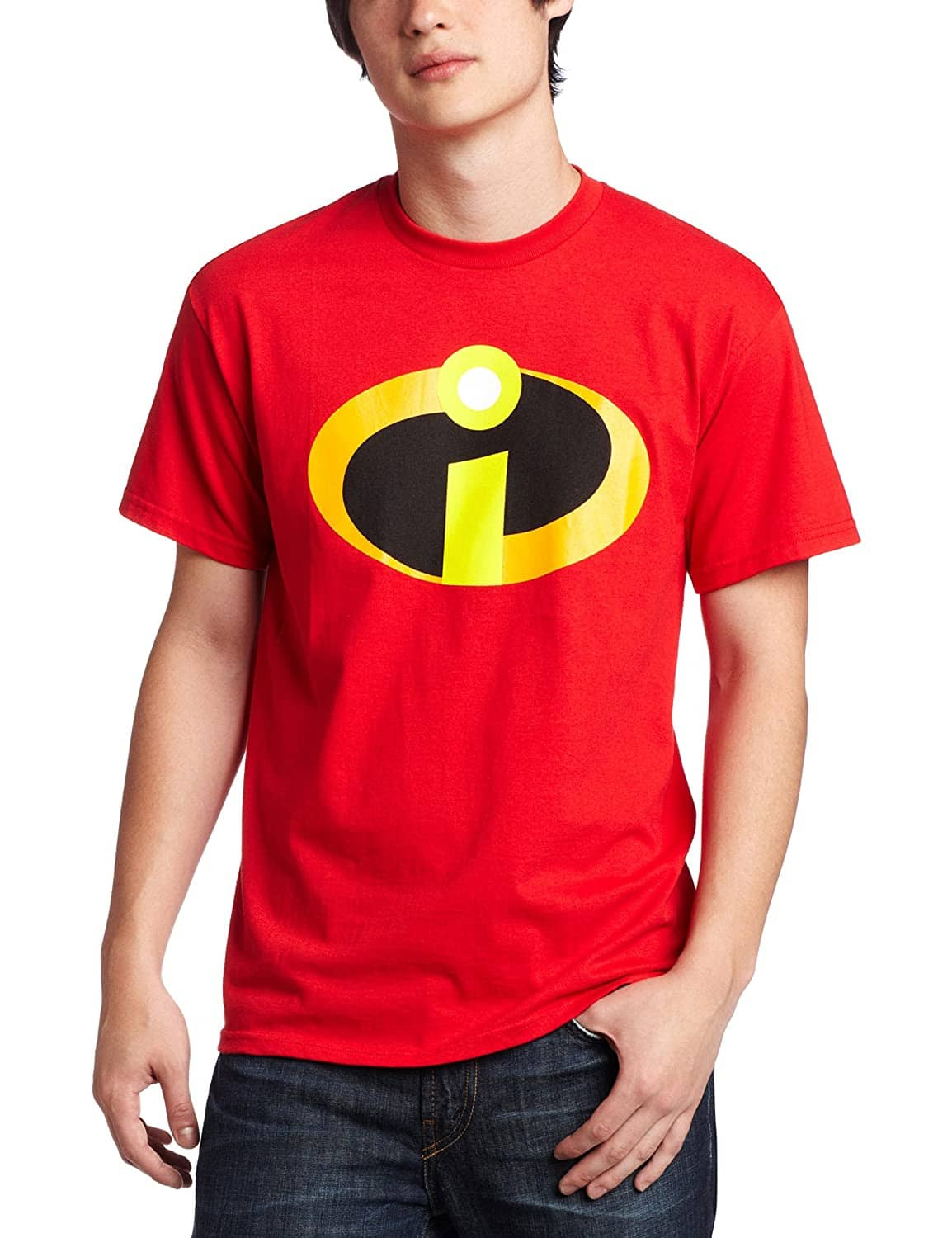 Disney Men's The Incredibles Logo Costume T-Shirt (Red) $5.70 + Free Shipping w /Amazon Prime or on $25+