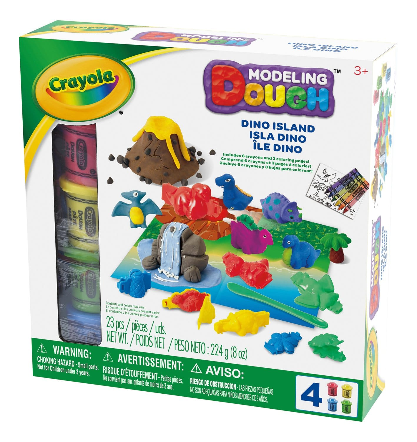 23-Piece Crayola Modeling Dough Dino Island $6.79 + Free Shipping w/Prime or on $25+