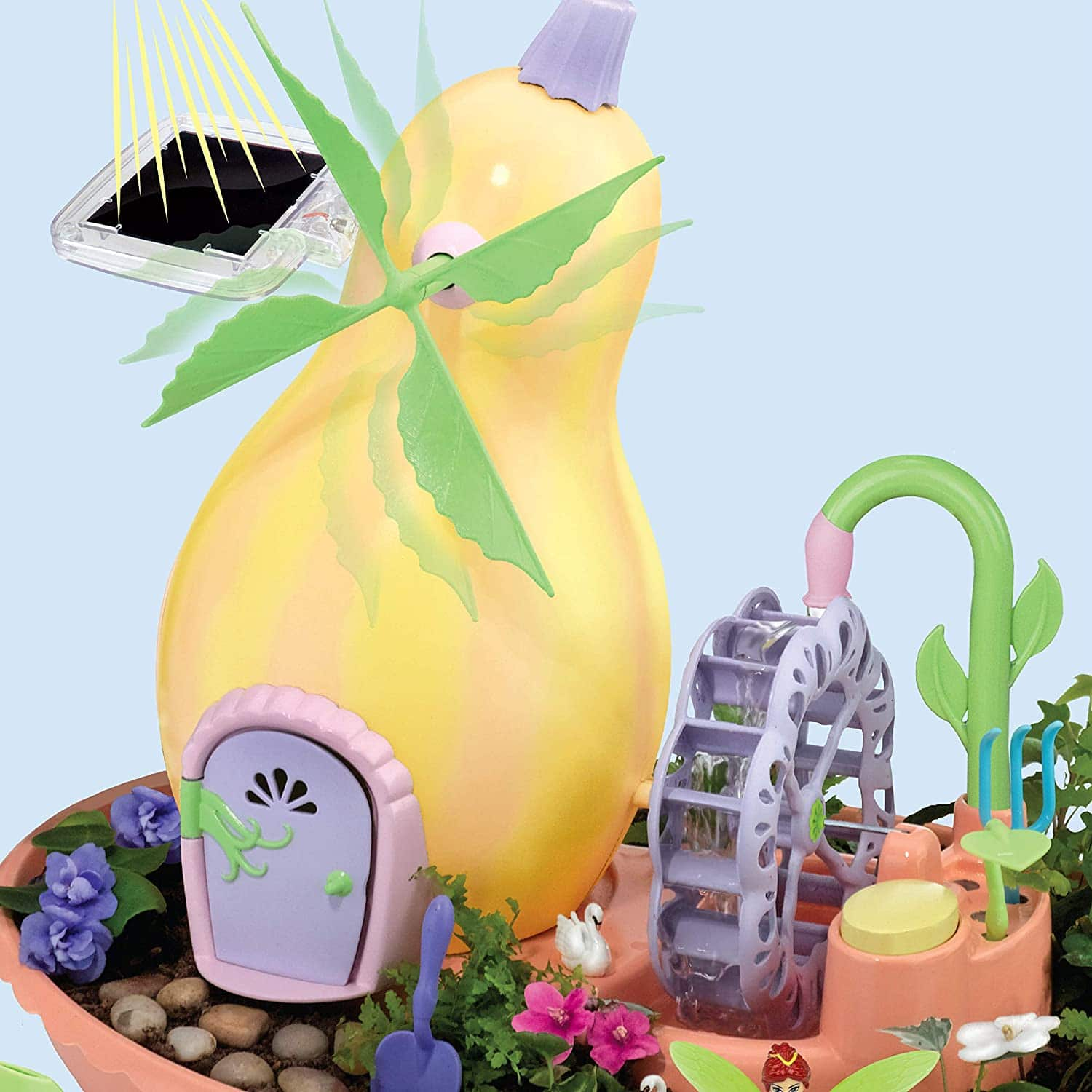 My Fairy Garden Windmill Terrace Solar Power Playset $17.92 + Free Shipping w/ Prime or on $25+