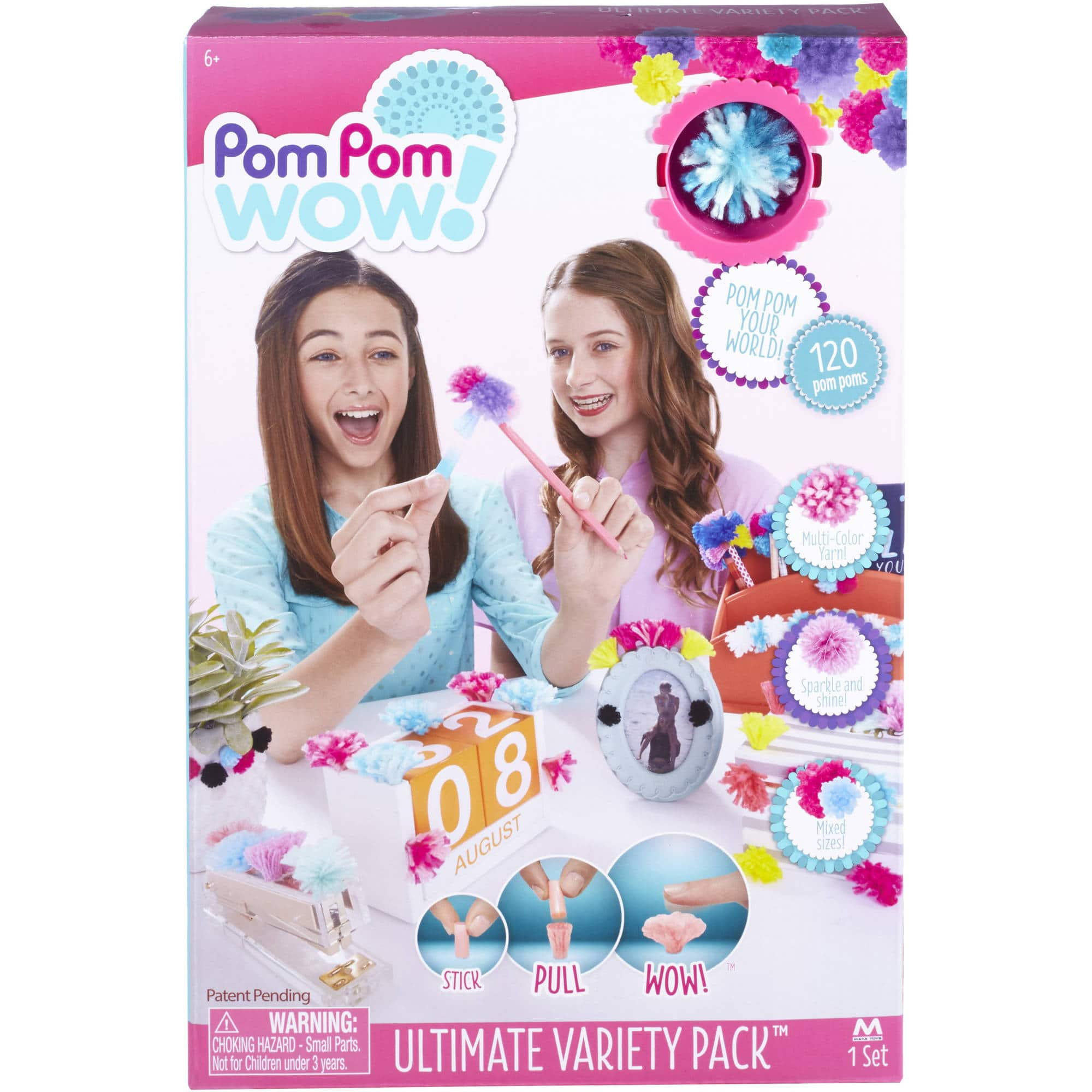 Pom Pom Wow! Ultimate Variety Pack $4.23 + Free Shipping w/ Prime or on $25+