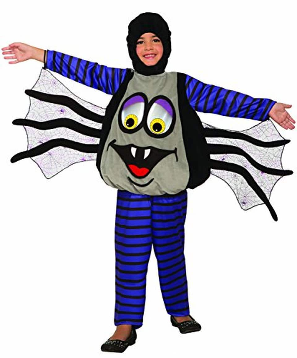 Forum Novelties Wiggle Eyes Spider Costume (Toddler) $4.07,  Wiggle Eyes Bunny Costume (Toddler) $5.22, More + Free Shipping w/ Prime or on $25+