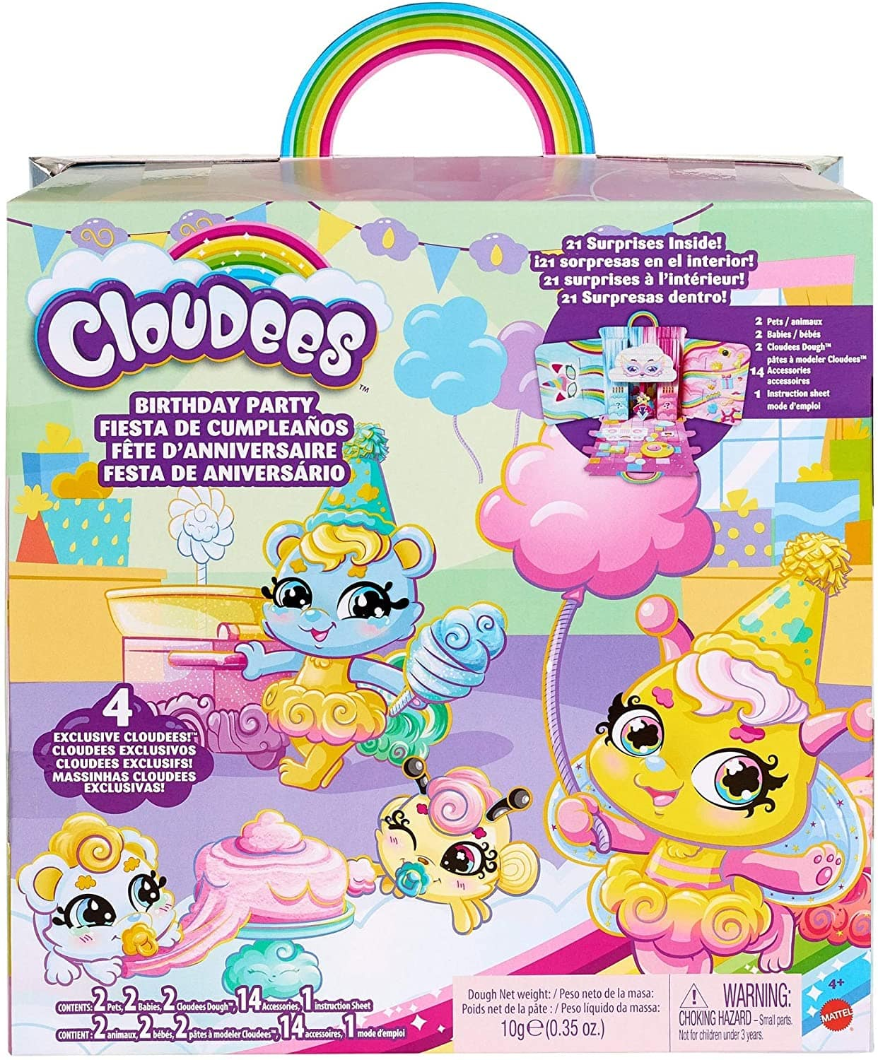 21-Piece Mattel Kid's Cloudees Surprise Party Pack $14.46 + Free Shipping w/ Prime or on $25+