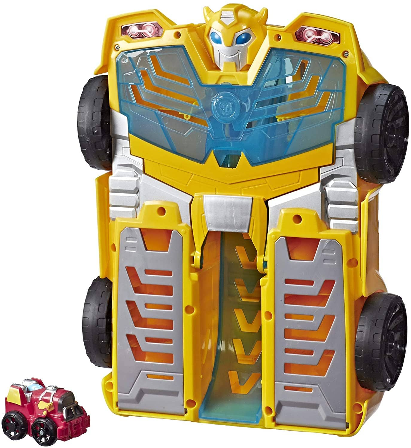 "14"" Playskool Heroes Transformers Rescue Bots Academy Bumblebee Track Tower $18.50 + Free Shipping w/ Prime or on $25+"