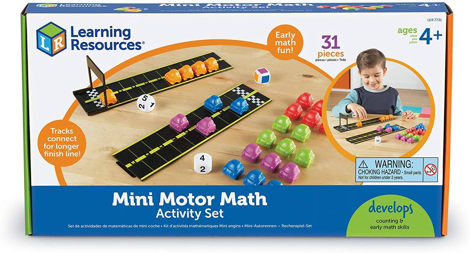 Learning Resources Mini Motor Math Activity Set $11.29 + Free Shipping w/ Prime or on $25+