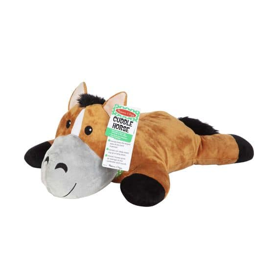 Melissa & Doug: Cuddle Horse Jumbo Plush Stuffed Animal $12.50, Cuddle Dog Jumbo Plush Stuffed Animal $12.50, More + Free Shipping on $49+