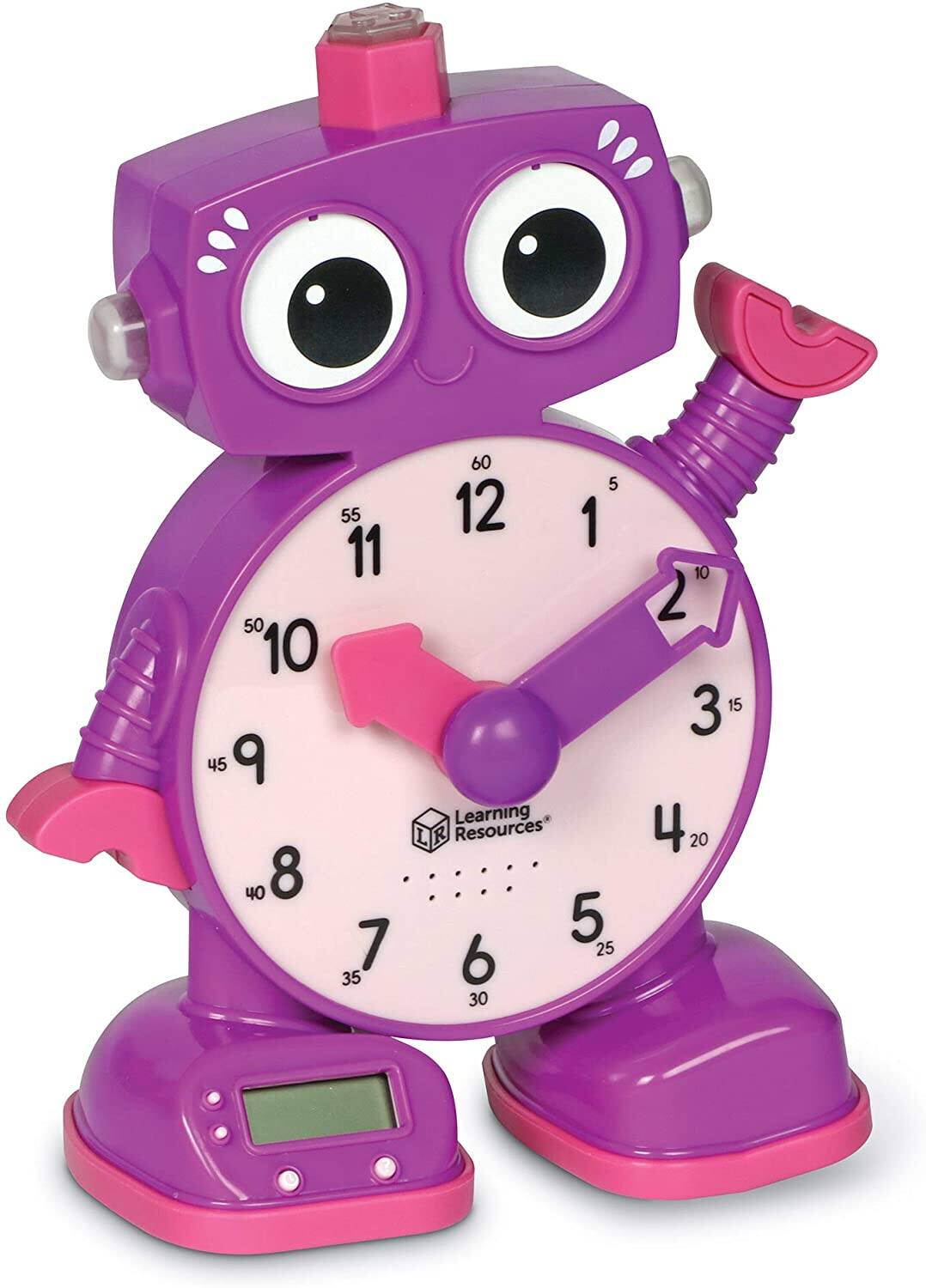 LearningResources Kid's Tock The Learning Clock (Purple) $12.44 + Free Shipping w/ Prime